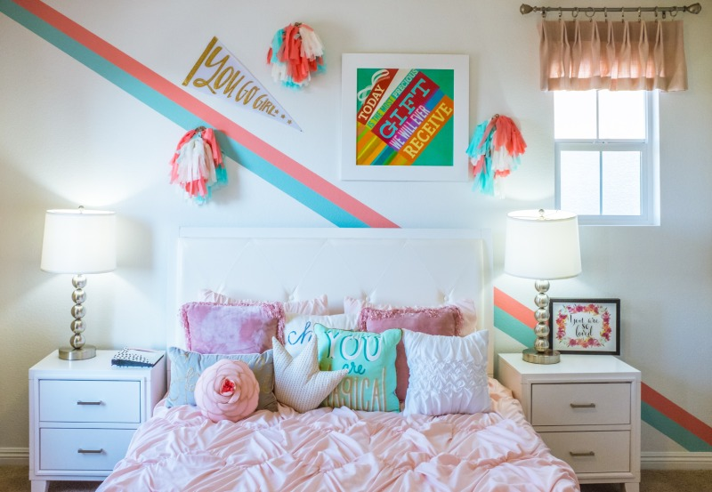 Add stripes to your walls